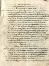 Raccolta di 62 tra lettere pastorali, orazioni, circolari, dissertazioni ecc. Metà del XIX secolo.