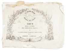 Album della guerra d'indipendenza italiana al generoso popolo piemontese propugnatore della libertà nazionale. Torino: Lit. Doyen, 1849.