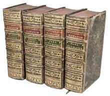 Breviarum romanum [...] in quatuor anni tempora divisum. Pars aestiva (-verna). Parmae: Ex Regio Typographeo, 1783.