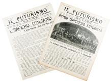 Il Futurismo. Rivista sintetica illustrata. Numero 6. Milano: Direzione del Movimento Futurista, 1923.