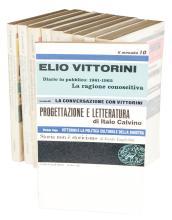 Il Menabò di letteratura (-tutto il pubblicato). Torino: Einaudi, 1959-1967.