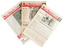 Il Politecnico (-tutto il pubblicato). Torino: Einaudi, 1945-1946.