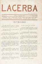 Lacerba (-tutto il pubblicato). Firenze: Vallecchi, 1913-1915.