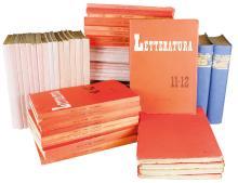 Letteratura (-tutto il pubblicato). Firenze: Parenti Editore (poi Vallecchi), 1937-1947.