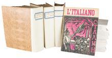 L'Italiano. Bologna (poi Roma): L'Italiano Editore, 1931-1942.