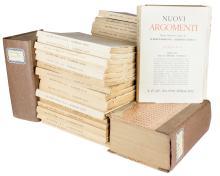 Nuovi Argomenti. Roma: S.e., 1953-1964.