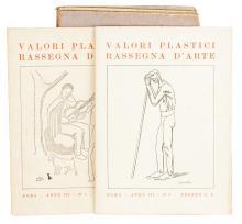 Valori plastici. Roma: s.e., 1918-1921.