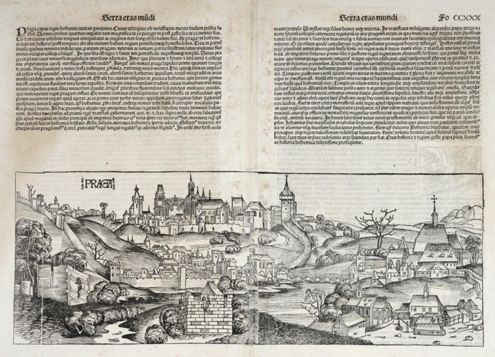 Hartmann Schedel, Serta etas mundi [Folio CCXXX] Praga.