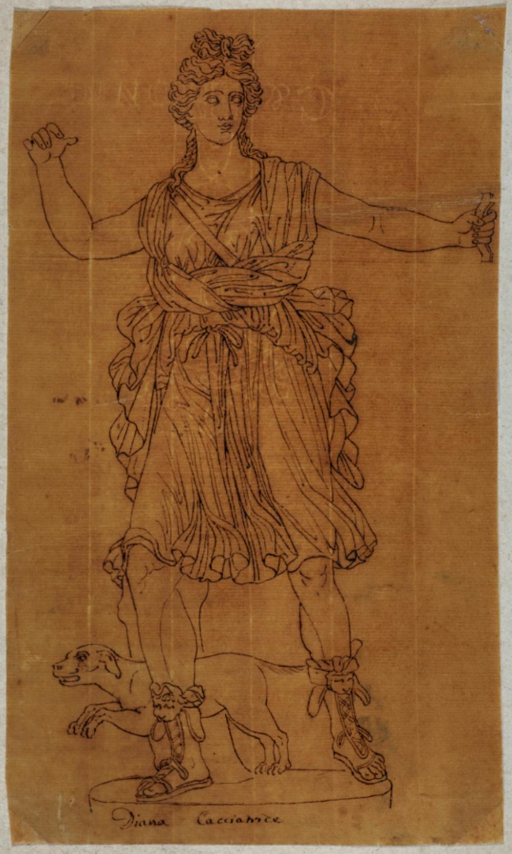 Vincenzo Dolcibene [attribuito a], Diana cacciatrice. 1782 ca.
