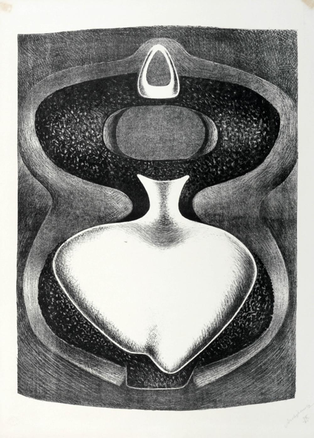 Alexander Archipenko, Les formes majestueuses.