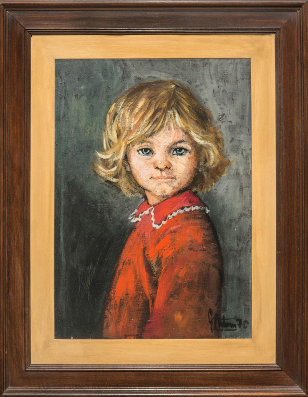 Gianfranco Antoni, Bambina americana in rosso.