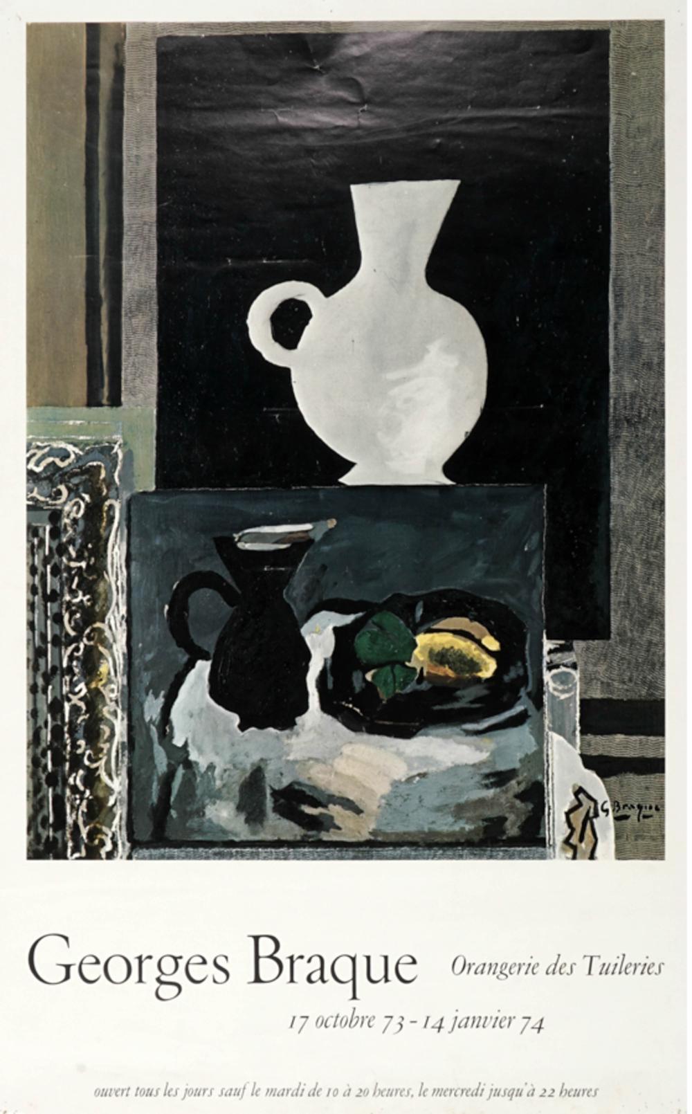 Georges Braque, Lotto composto di 2 manifesti. 1974-82.