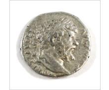 Ancient Rome 193-211 A.D. Septimius Severus Silver Denarius