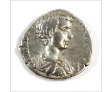 Ancient Rome 209-211 A.D. Geta Silver Denarius