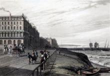 William Daniell Near Regent's Square, Brighton 9.25 x 12.25in.