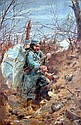*Ferdinand Joseph Gueldry (French 1858 - 1945)  In The Trenches, Ferdinand-Joseph Gueldry, Click for value