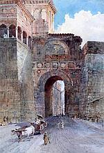 Walter J. Donne (b.1867) Peruvia, 14 x 10in.