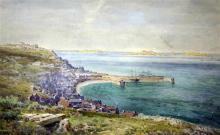 Arthur Suker (1859-?) St Marys, Scilly Isles, 15 x 23.5in.