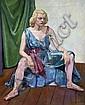 Ian Macdonald Grant (1904-1993) 'Ballet dancer' 1941 27 x 21in., Ian Macdonald Grant, Click for value