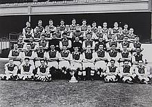 Arsenal Football Club. A rare presentation photograph album, c.1951,