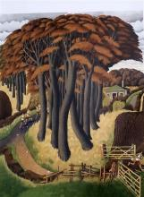§ Simon Palmer (1956-) 'The Paper Chase' 21.25 x 27in.