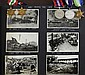 An album of 207 real photographic postcards and photographs titled 'In memory of my cruise, China Station, 1932-4, H.M.S. Kent'