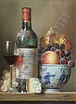 †Raymond Campbell (20th C.) ''Chateau Leoville Barton 1982'' 16 x 12in., Raymond Campbell, Click for value