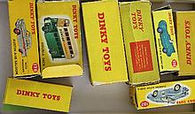 A collection of eight Dinky toys:
