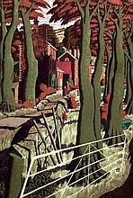Simon Palmer (b.1956) The Small Farmer and The Large Farm Worker, and The Sisters Went Their Separate Ways 24 x 17in. & 17 x 23in., tog