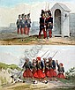 Theodore Fort (1810-?) French and Turkish soldiers in the Crimea 5.5 x 9in., Théodore Fort, Click for value