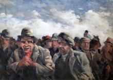 Thomas Austen Brown (1857-1924) 'Some Win' 16 x 22in.