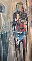 Bob Crossley (1912-) Red Indian 23.5 x 12in., Bob Crossley, Click for value