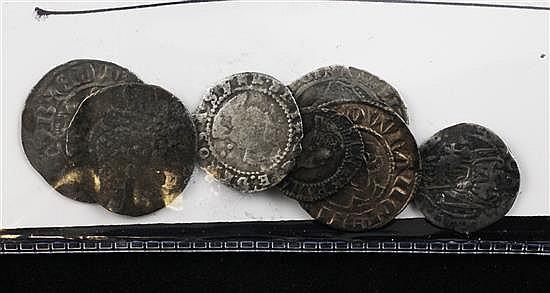 hammered british coins