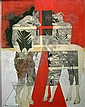 Renos Loizou (1948-) Cypriot Mythical beasts 27.5 x 21.5in., Renos Loizou, Click for value