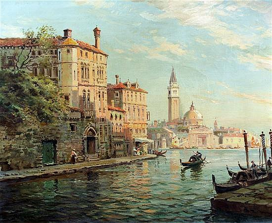 William Knox (1862-1925) 'Golden Venice', 20 x 24in.