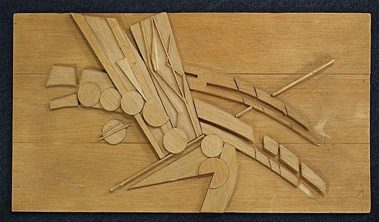Peter Thursby RA (1930-2011) Abstract, 19 x 11in., maquette 22 x 11.5in.