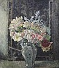 Clare Atwood (1866-1962) Still life of flowers in a vase 24 x 20in.