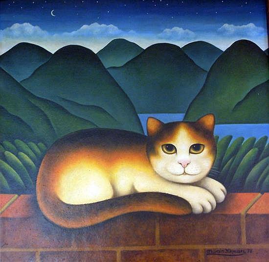 Martin Leman (1934-) 'Wilberforce' 14 x 14in.