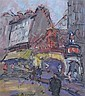 Georges Berger (1908-1976) Moulin Rouge, 13 x 12in., Georges Berger, Click for value