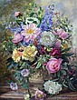 Albert Williams (1922-2010) The Flowers of Summer, 30 x 24in., Albert Williams, Click for value