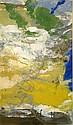 John Hubbard (1931-) American 'Imaginary Greek Landscape' 9 x 10in., John Hubbard, Click for value