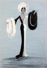 Berkeley Sutcliffe (1918-1979) Collection of costume designs largest 20 x 14in., unframed