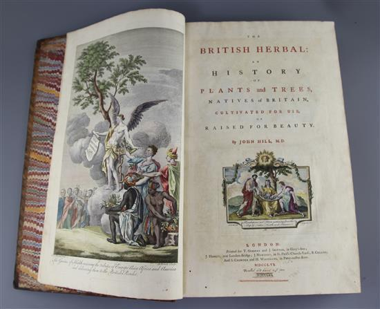 Hill, John, Sir - The British Herbal,