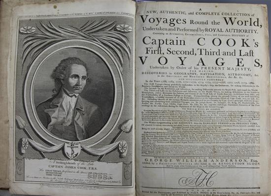 Anderson, George William - A New, Authentic and Complete Collection of Voyages around the World,