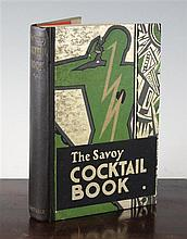 The Savoy cocktail book, 1930, by Harry Craddock,