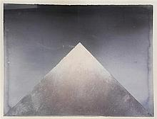 Derek Hirst (1930-2006) Sacred Mountain Scenic View, overall 31 x 39.5in.