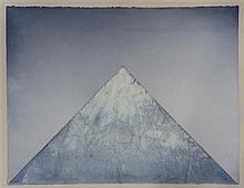 Derek Hirst (1929-2006) Sacred Mountain Third View, 1986, 31 x 39.5in.