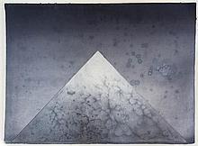 Derek Hirst (1930-2006) Sacred Mountain First View, 31 x 39.5in.