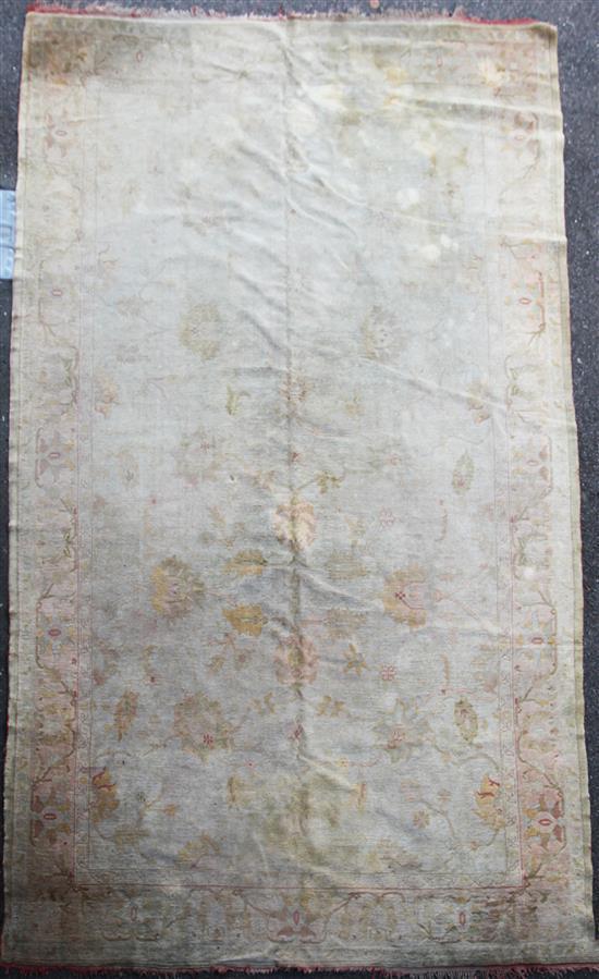 An Ushak carpet, 15ft 5in by 10ft.