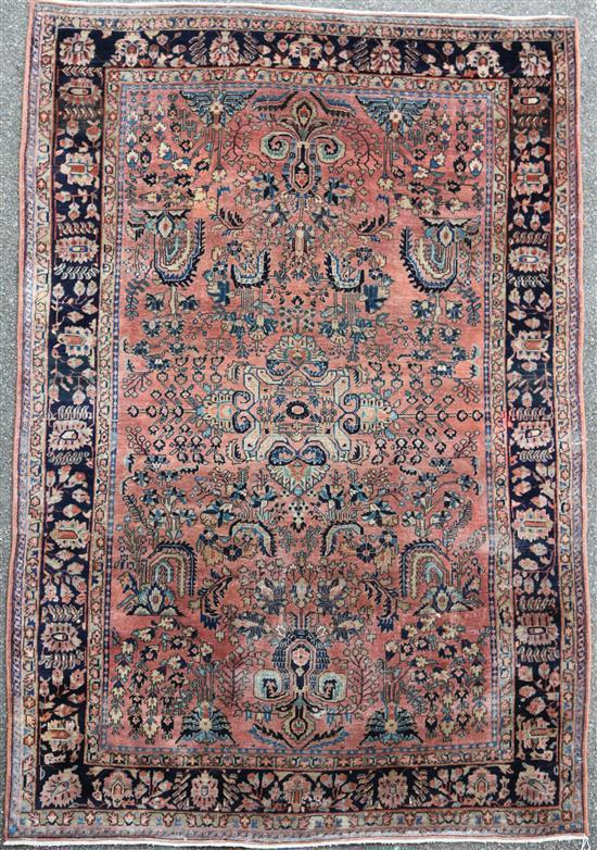 A Shirvan carpet, 9ft by 6ft.